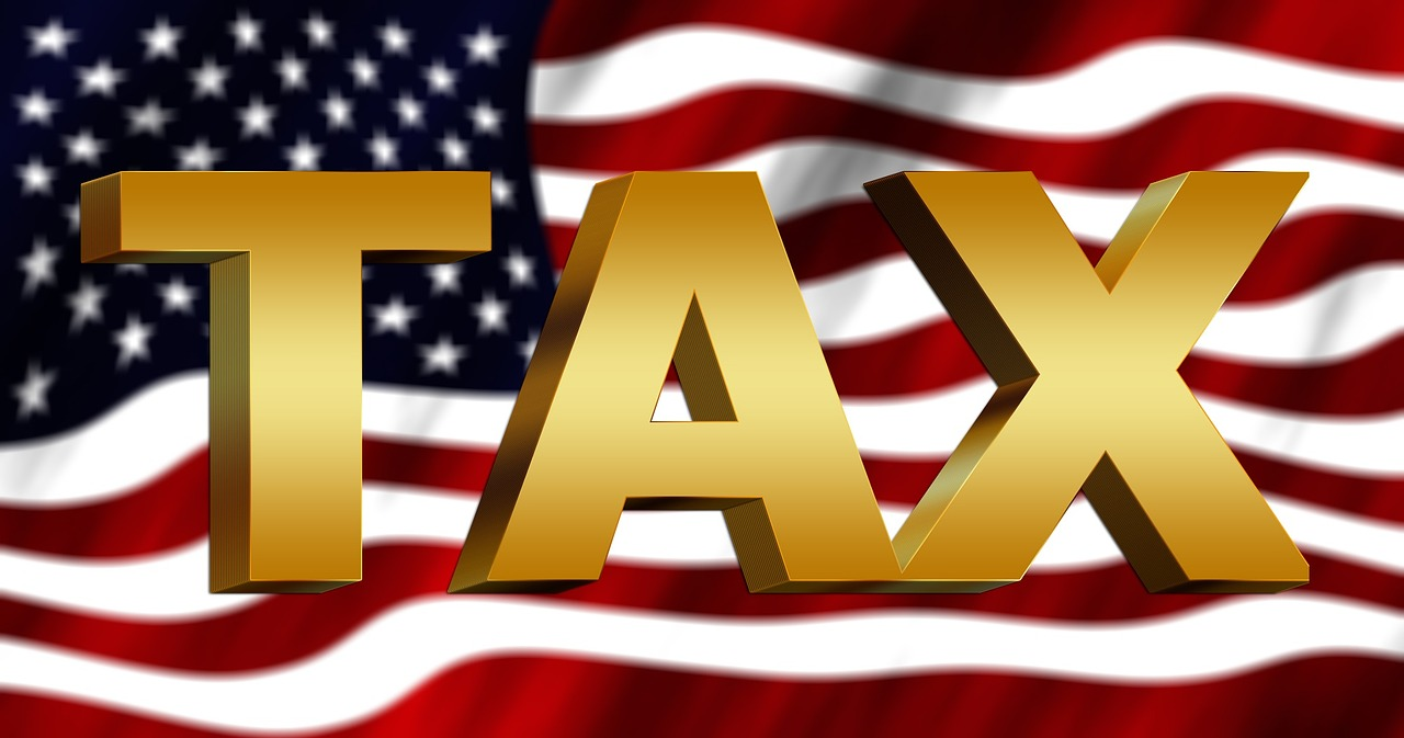 tax_and_american_flag