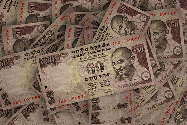Rupees in India